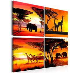 Kép - African Animals (4 Parts)