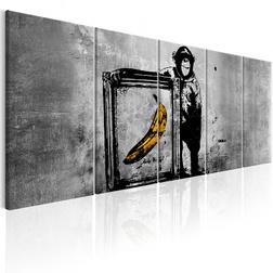 Kép - Banksy: Monkey with Frame