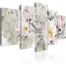 Kép - magnolia - retro style