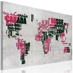 Kép - Map of the World (francia nyelven)