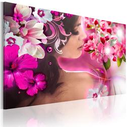 Kép - Woman and flowers