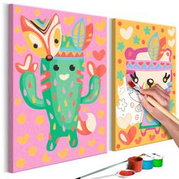 Kifestő - Cactus & Bear