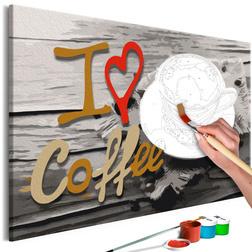 Kifestő - I Love Coffee