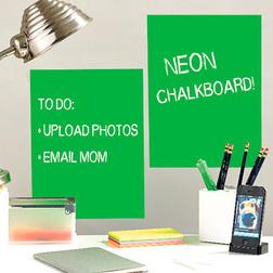 Neonzöld írható tábla