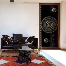 Fotótapéta ajtóra - Photo wallpaper - Pattern – circles I