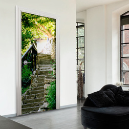 Fotótapéta ajtóra - Stony Stairs