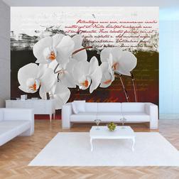 Fotótapéta - Diary and orchid