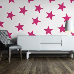 Fotótapéta - Pink Star
