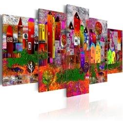 Kép - Colourful Small Town