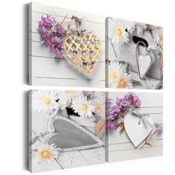 Kép - Hearts and flowers