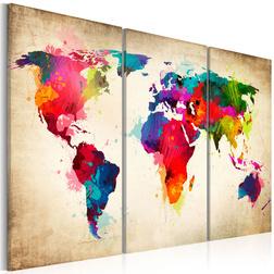 Kép - Rainbow Continents