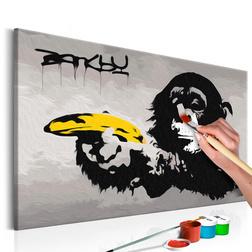 Kifestő - Monkey (Banksy Street Art Graffiti)