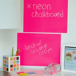 Neon Pink írható tábla
