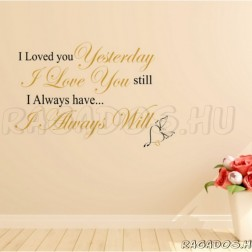 Szeretlek...