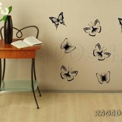 Fali pillangókollekció