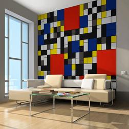 Fotótapéta - Inspired by Piet Mondrian