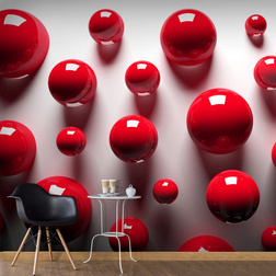 Fotótapéta - Red Balls