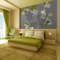 Fotótapéta - Zöld Magnolias