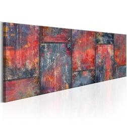 Kép - Metal Mosaic: Red