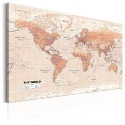Kép - World Map: Orange World