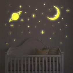 Moon and Stars Glow falmatrica