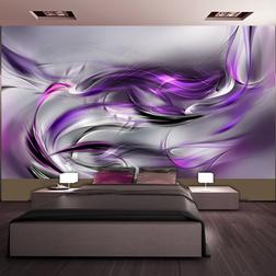 XXL Fotótapéta - Purple Swirls II