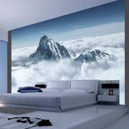 Fotótapéta - Hegy a felhők