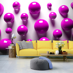Fotótapéta - Purple Balls