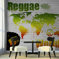 Fotótapéta - Reggae in the world