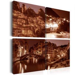 Kép - Italian Towns (Sepia)