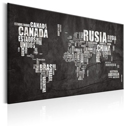 Kép - World Map: Mundo Negro