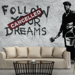 Fotótapéta - Dreams Cancelled (Banksy)