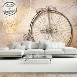 Fotótapéta - Vintage bicycles - sepia