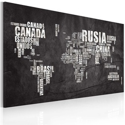 Kép - Map of the World (spanyol nyelvű)