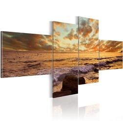 Kép - Naplemente a tengeren