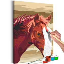 Kifestő - Brown Horse