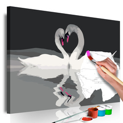 Kifestő - Swan Couple