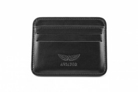 Port Credit Card Piele AVIATOR AVL6559