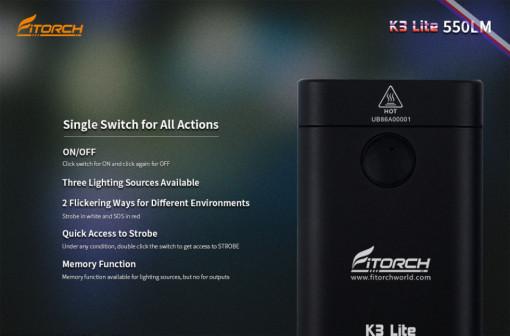Fitorch K3 Lite