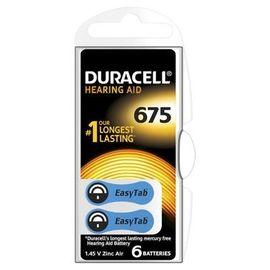 Poze Baterie Duracell pentru aparat auditiv ZA 675 6buc