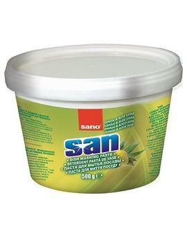 Poze Detergent Vase Sano San Pasta Lemon Aloe Vera 500G