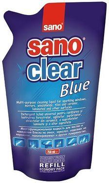 Poze Detergenti geamuri Sano Clear Blue - Rezerva 750 ml