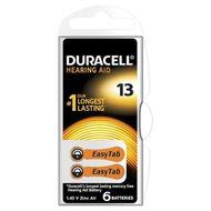 Baterie Duracell pentru aparat auditiv ZA 13 6buc