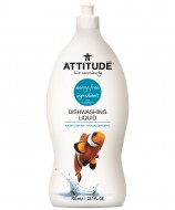 Detergent lichid pentru vase Attitude - Flori de camp 700ml