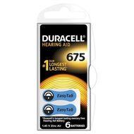 Baterie Duracell pentru aparat auditiv ZA 675 6buc
