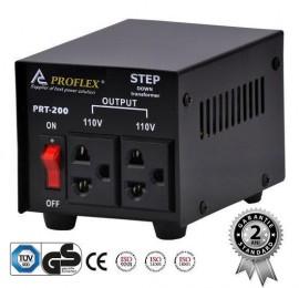 Poze Transformator Proflex 220v-110v 200w