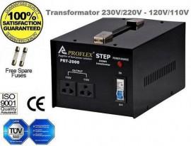Poze Transformator 220V la 120V/110V 1500W electronice din USA
