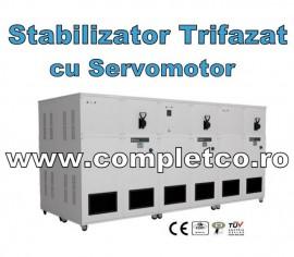 Stabilizator industrial cu servomotor trifazic 200 -3000 kVA