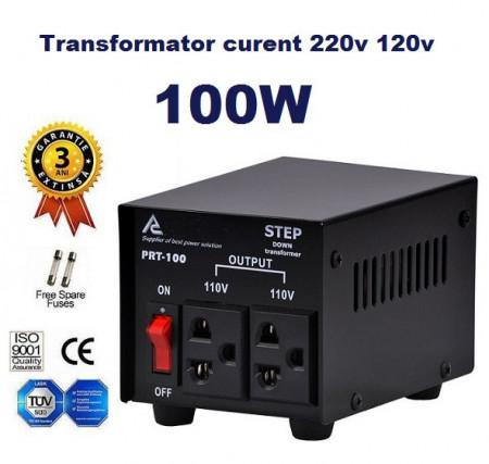 Poze Transformator curent 220V - 110V 100W Proflex®