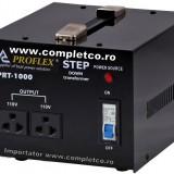 Transformator tensiune 220V 110V 1000W, Proflex
